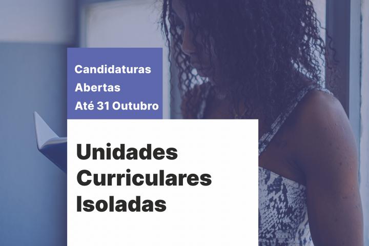 Candidatura – Unidades Curriculares Isoladas